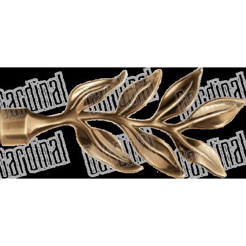 Наконечник для карниза 16мм лист лаур