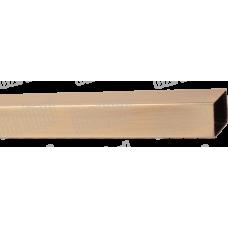 Труба квадратна для карнизу 20 мм