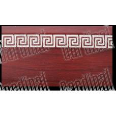 Декоративна накладка махонь з молдингом