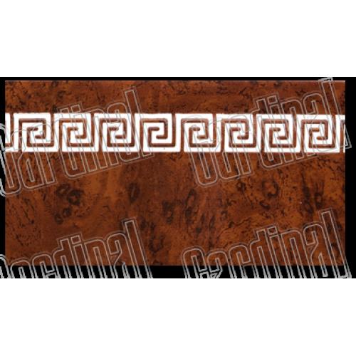 Декоративна накладка африканський корінь з молдингом