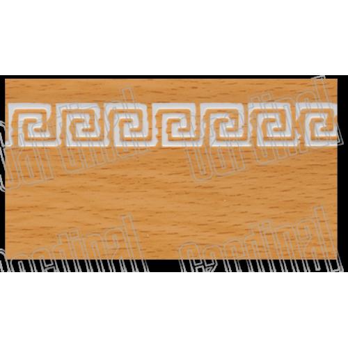 Декоративна накладка бук з молдингом