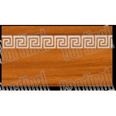 Декоративна накладка світла черешня з молдингом