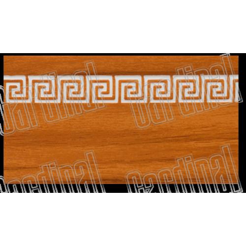 Декоративная накладка светлая черешня с молдингом
