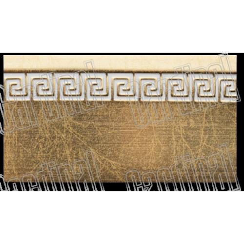 Декоративная накладка золото с молдингом