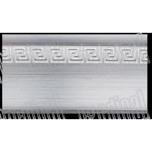Декоративна накладка срібло з молдингом