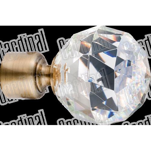 Закінчення 35мм куля кристал