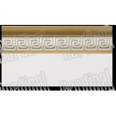 Декоративна накладка МЕАНДР золото