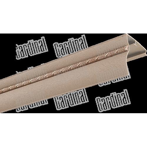 Карниз алюминиевый окрашенный с молдингом МАКС