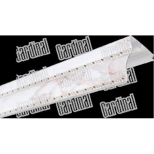 Карниз алюминиевый пленка двойн молд МИНИ